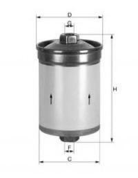 Топливный фильтр UNIFLUX FILTERS XB37