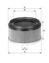 Фильтр, воздух во внутренном пространстве UNIFLUX FILTERS XC379