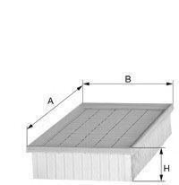 Фильтр, воздух во внутренном пространстве UNIFLUX FILTERS XC493
