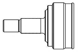 ШРУС внешний комплект GSP 844002