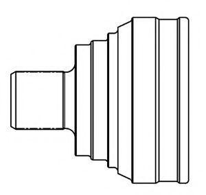 ШРУС внешний комплект GSP 803014