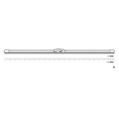 Щетка стеклоочистителя OPEN PARTS WBS002200