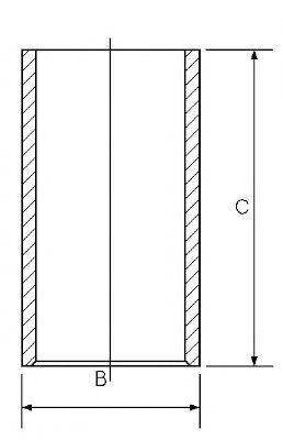 Гильза блока цилиндров GOETZE 14-010940-00