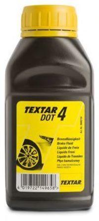 Тормозная жидкость DOT4 250мл TEXTAR 95002100