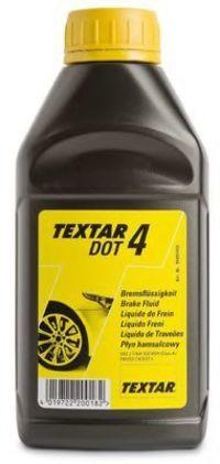 Тормозная жидкость DOT4 500мл TEXTAR 95002400