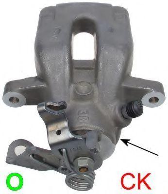 Суппорт тормозной TEXTAR 38046900