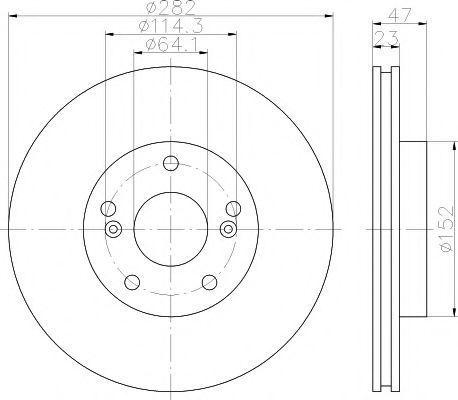 Тормозной диск TEXTAR 92259903
