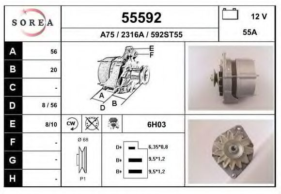 Генератор EAI 55592