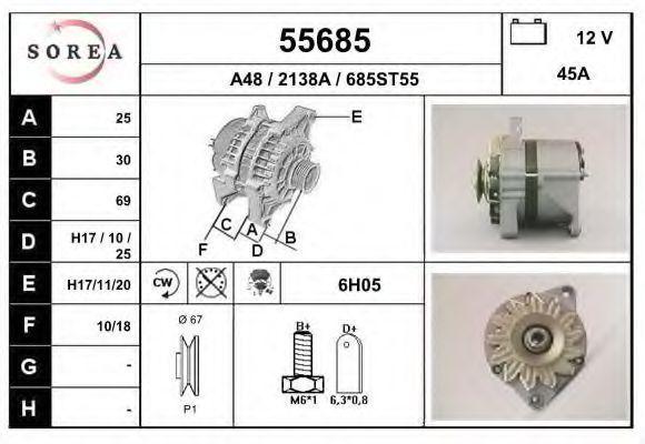 Генератор EAI 55685