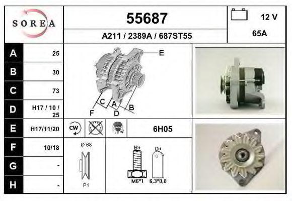 Генератор EAI 55687