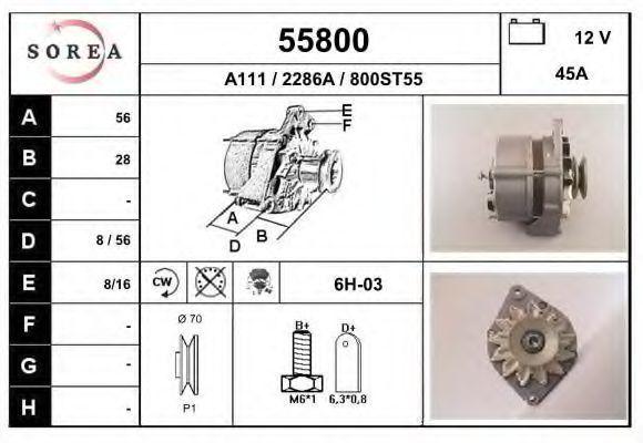 Генератор EAI 55800