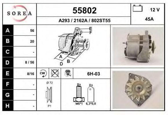 Генератор EAI 55802