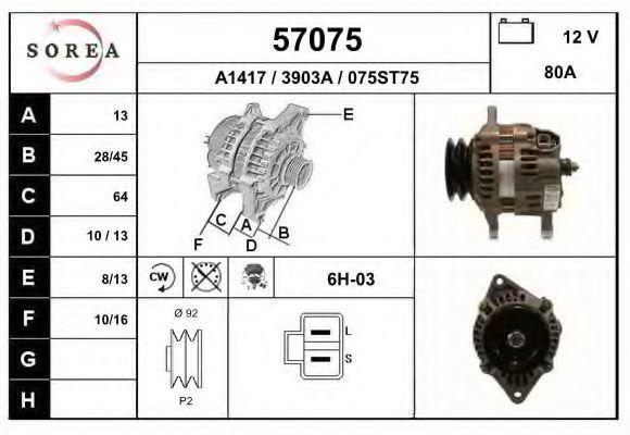 Генератор EAI 57075