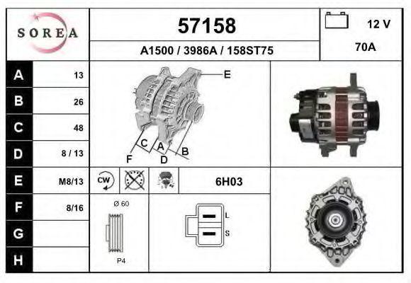 Генератор EAI 57158