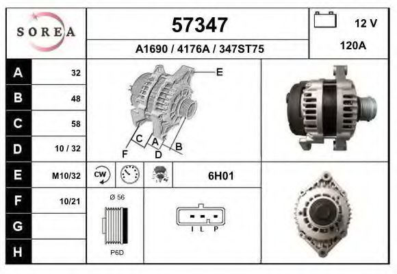 Генератор EAI 57347