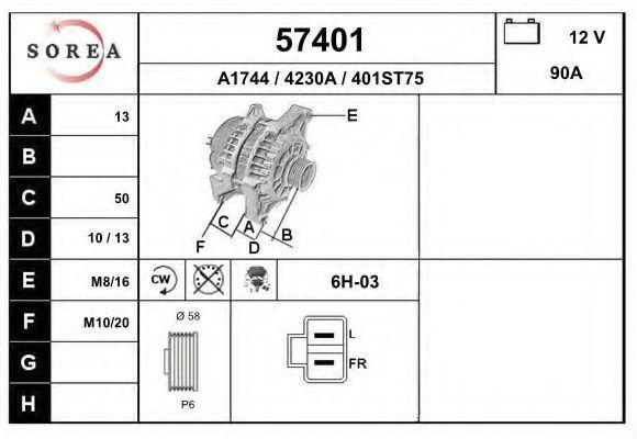 Генератор EAI 57401