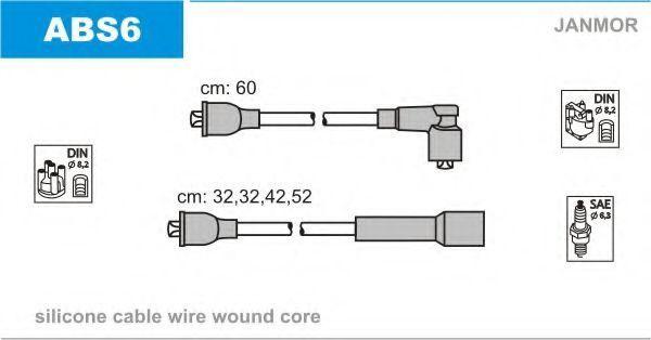 Провода высоковольтные комплект JANMOR ABS6