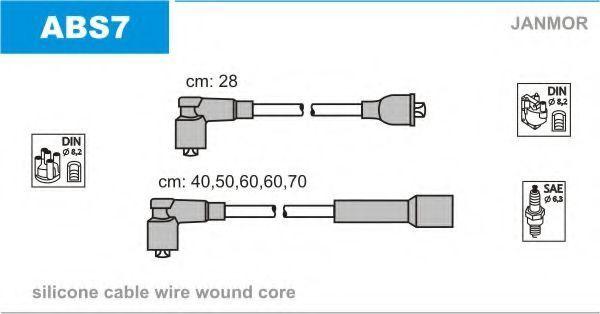 Провода высоковольтные комплект JANMOR ABS7