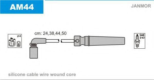 Провода высоковольтные комплект JANMOR AM44