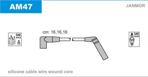 Провода высоковольтные комплект JANMOR AM47