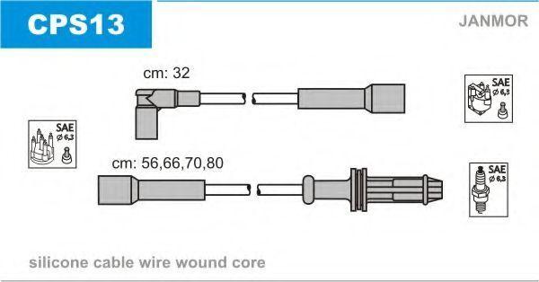 Провода высоковольтные комплект JANMOR CPS13
