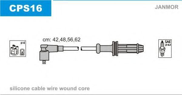 Провода высоковольтные комплект JANMOR CPS16