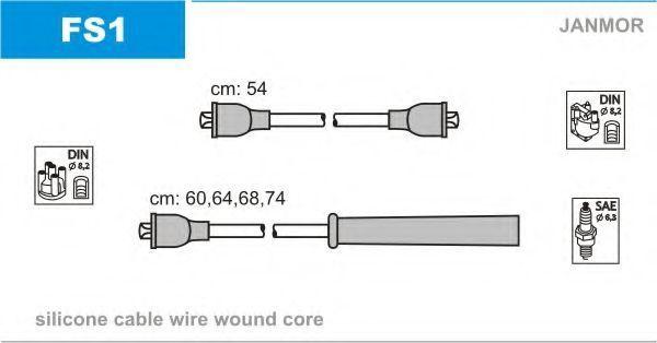 Провода высоковольтные комплект JANMOR FS1