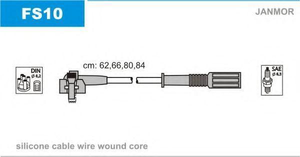 Провод высоковольтный JANMOR FS10