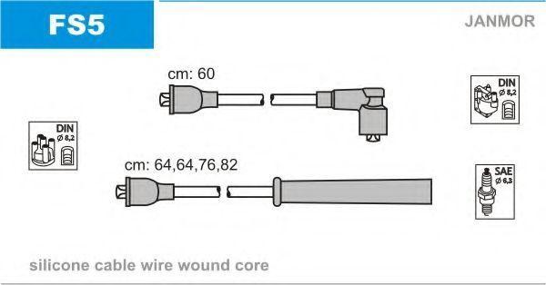 Провода высоковольтные комплект JANMOR FS5