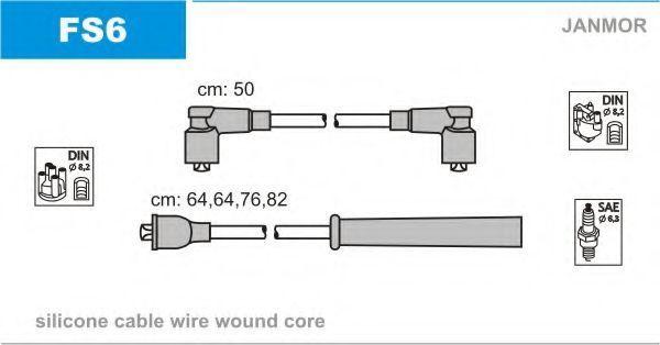 Провода высоковольтные комплект JANMOR FS6
