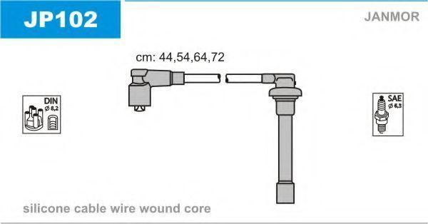 Провода высоковольтные комплект JANMOR JP102