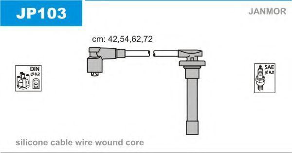 Провода высоковольтные комплект JANMOR JP103
