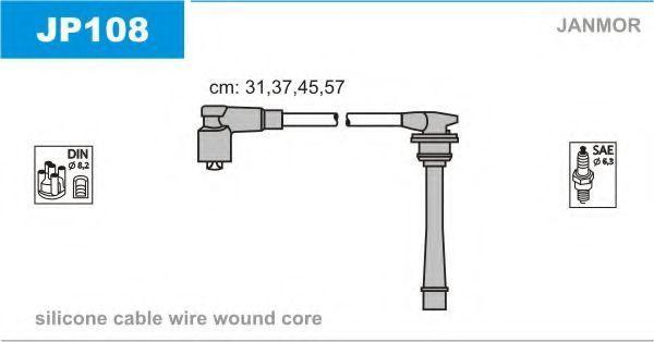 Провода высоковольтные комплект JANMOR JP108