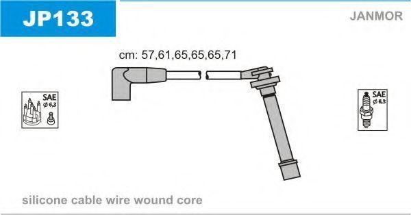Провода высоковольтные комплект JANMOR JP133