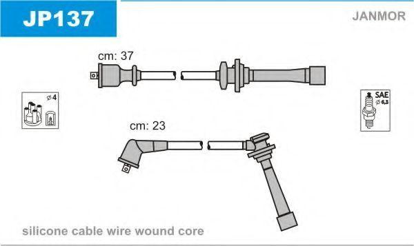 Провода высоковольтные комплект JANMOR JP137