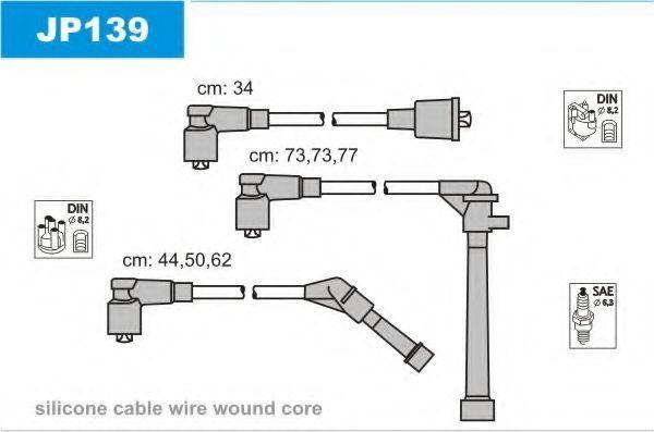 Комплект проводов зажигания JANMOR JP139