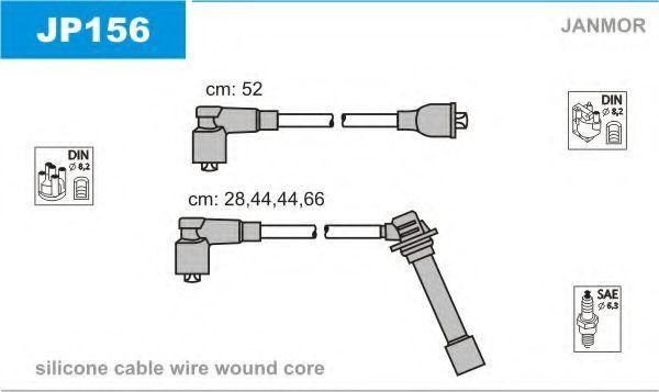 Провода высоковольтные комплект JANMOR JP156