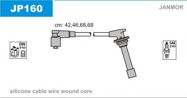 Провода высоковольтные комплект JANMOR JP160