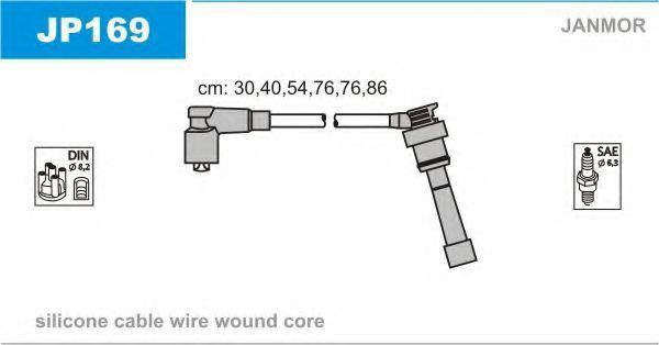 Провода высоковольтные комплект JANMOR JP169