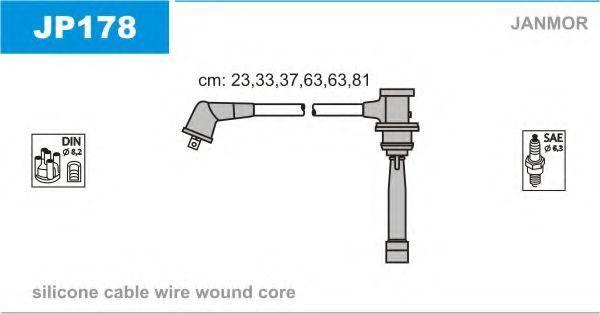 Провода высоковольтные комплект JANMOR JP178
