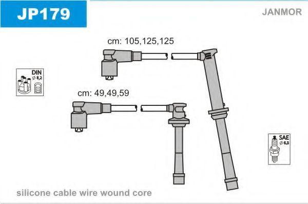 Провода высоковольтные комплект JANMOR JP179