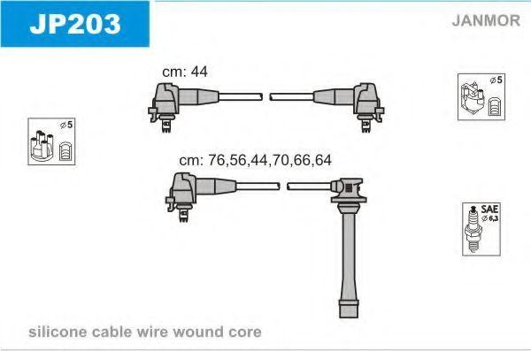 Провода высоковольтные комплект JANMOR JP203