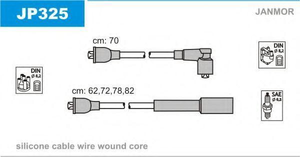 Провода высоковольтные комплект JANMOR JP325