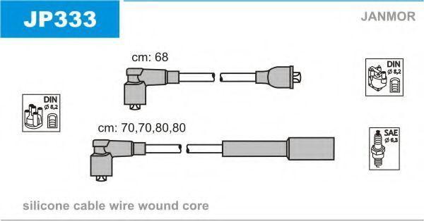Провода высоковольтные комплект JANMOR JP333