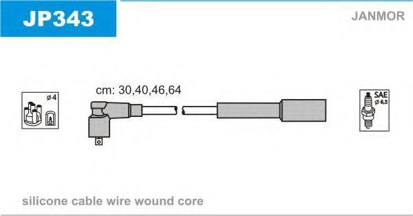 Провода высоковольтные комплект JANMOR JP343