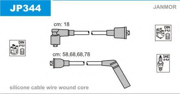 Провода высоковольтные комплект JANMOR JP344