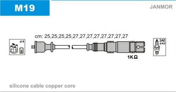 Провода высоковольтные комплект JANMOR M 19