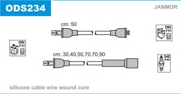 Провода высоковольтные комплект JANMOR ODS234