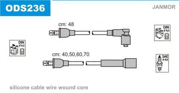 Провода высоковольтные комплект JANMOR ODS236