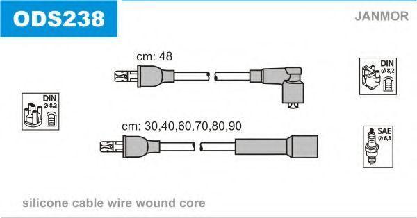 Провода высоковольтные комплект JANMOR ODS238